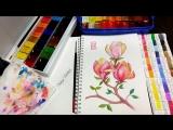 magnolia by Nadiya Vasilkova