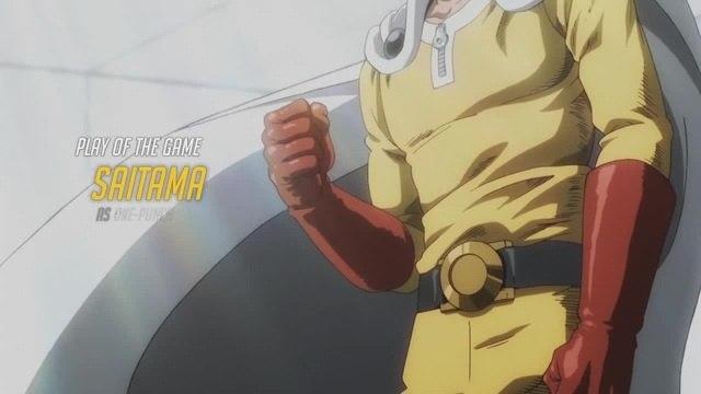 Saitama in Overwatch (AMV, One-Punch Man, Ванпанчмен)