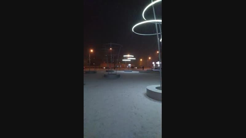 Сквер «Мои крылатые земляки» в Смоленске потух