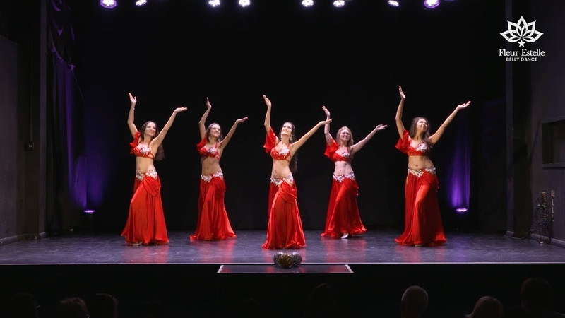 ENTA HABIBI (Wael Kfoury) Belly dance by Fleur Estelle Dance Company