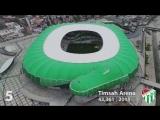ТОП-10 Самых Больших стадионов Турции !