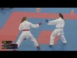 Гвадалахара-2018. Финал в женском кумитэ свыше 68 кг
