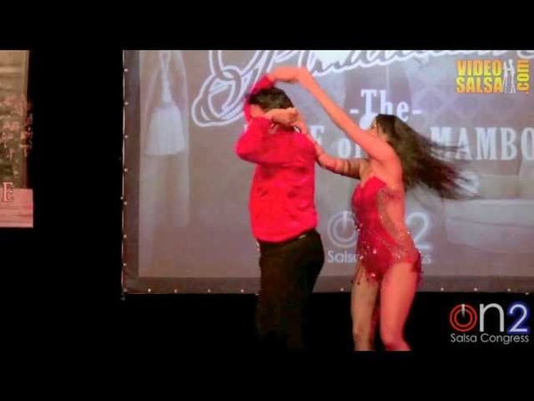 Eddie Torres And Shani Talmor ON2 Salsa Congress 2013, Milan Italy
