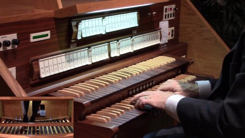 608 J. S. Bach - In dulci jubilo (Orgelbüchlein No. 10), BWV 608 - David Kriewall
