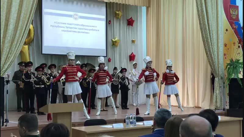 Духовой оркестр «Корнет» и хор кадетов