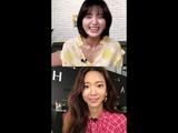 EXID Jeonghwa (박정화) Instagram Live 3 [181017]