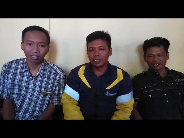 Warga Lebak rejo Surabaya dukung Pilkada damai tolak Hoax