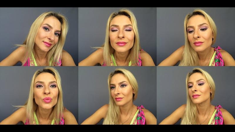 Волшебный макияж с пигментами Тамми Танука. Урок макияжа 12