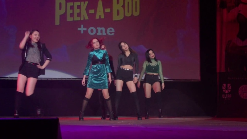 One Уфа Red Velvet Peek A Boo ANIMAU NO HARU 2018