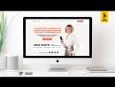 Дизайн сайта-визитки для Ольги Мажуть