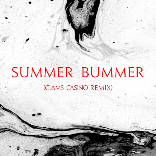 Lana Del Rey album Summer Bummer (Clams Casino Remix)