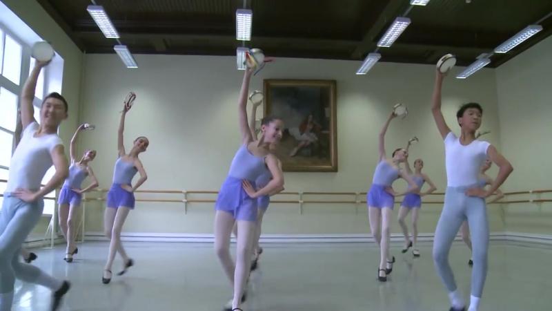 Vaganova Ballet Academy. Tarantella, Character Dance Exam, 4th class. 2015