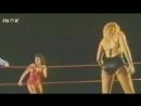 Female Classic Wrestling in Ring Martel vs Divine