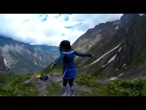 Путешествие в сердце Кавказа! Цей! Ледник Сказка в июне