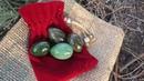 Нефритовые яйца: изумрудно-зеленый нефрит и кошачий глаз