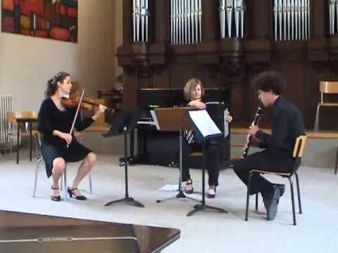 Concertsuite by Eddy Flecijn : (1) fuga, (2) funk, (3) swing