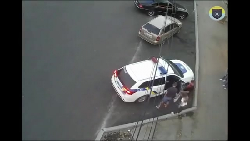 Дикий позор полиции Украины