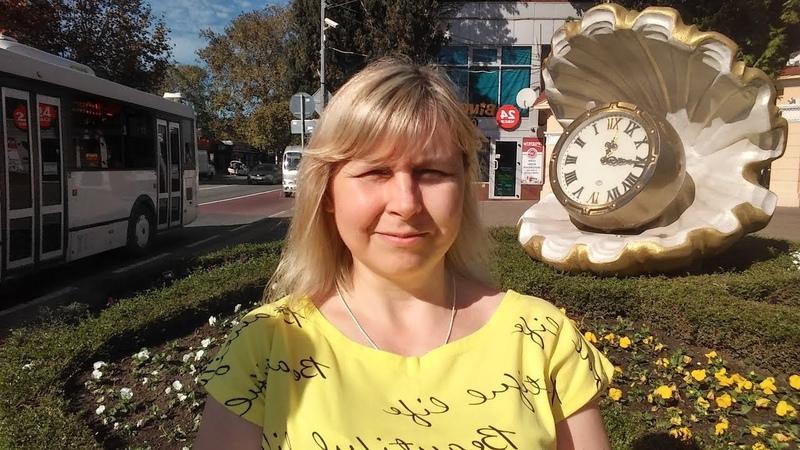 Поездка и прогулки по Сочи , часть 1 первого дня