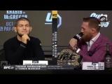 Пресс-конференции главных участников UFC 229 Хабиба и МакГрегора
