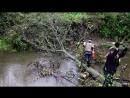 Работа по расчистке русла реки - Железный Дровосек