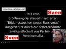Sven Liebich gegen Vereinsmafia Eröffnung interkulturelle Woche in Halle