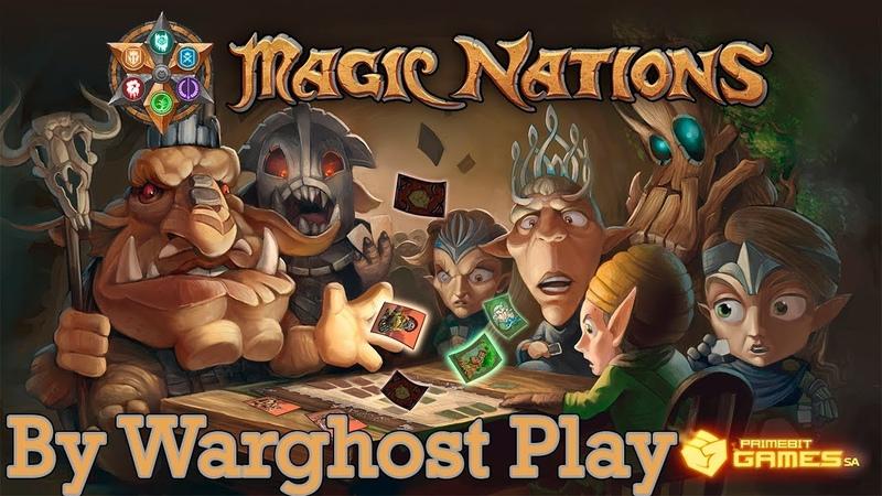 Magic Nations - Тяжелые битвы | Обзор