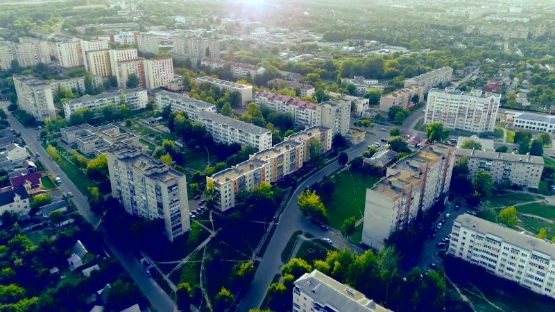 Mozyr City Aerial Footage (2018)