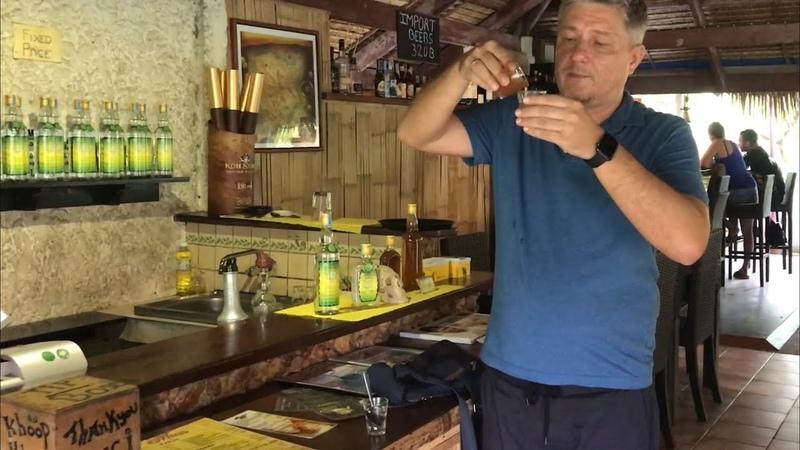 Алко Тур по острову Самуи Сезон дождей и местная ромоварня