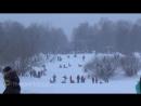 Катание на тюбингах в Кузьминском парке