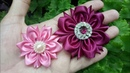 123 DIY Tutorial Cara Membuat Bros Bunga Unik How to Make Unique Ribbon Flower