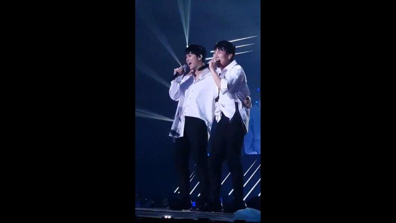 FANCAM 10 08 2018 BTOB Finale Our Concert Фокус на Ынквана и Хёншика @ 2018 BTOB TIME THIS IS US