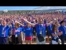 Фирменная кричалка исландских футбольных болельщиков