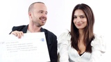Emily Ratajkowski &amp Aaron Paul Answer the Web's Most Searched Questions WIRED