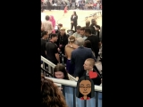February 16: Another video of Justin at the NBA All-Star Game Celebrity Game in Los Angeles, California