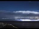 Ночная гроза над Адриатическим морем, Италия - Timelapse