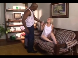 Old black man takes a unconscious hot white girl on the road to his house and fucks | Interracial | Anal