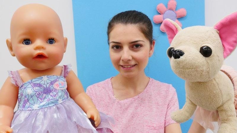 Oyuncak bebek için Doğum günü pastası | Keyif Okulu