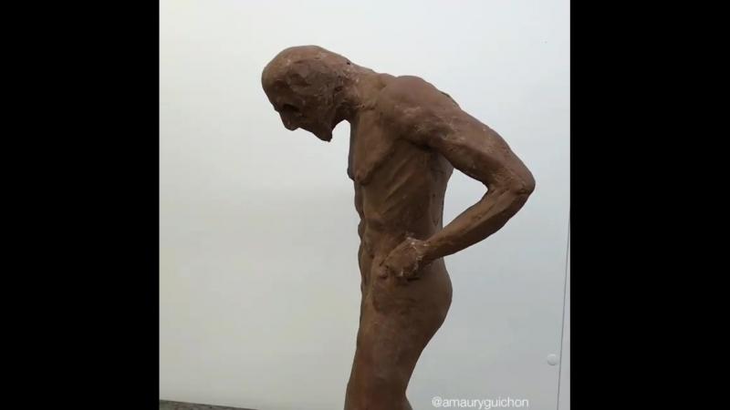 Шоколадная скульптура.