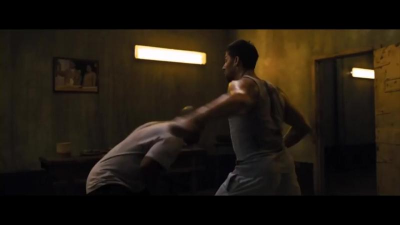 Kickboxer Retaliation 2017 Briggs (Mike Tyson, with extra Nunchuko guy) vs Kurt_HD.mp4