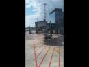Международный аэропорт Симферополь SIP Швартовка телетрапа к Airbus A320 Аэрофлот