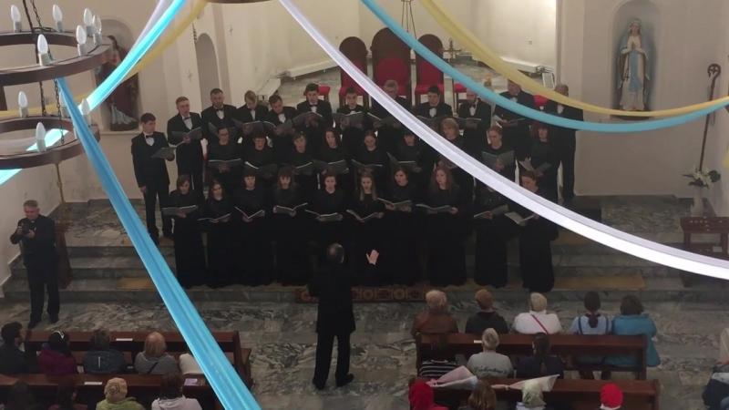 хор Полемика - Ave verum corpus (В.А.Моцарт) » Freewka.com - Смотреть онлайн в хорощем качестве