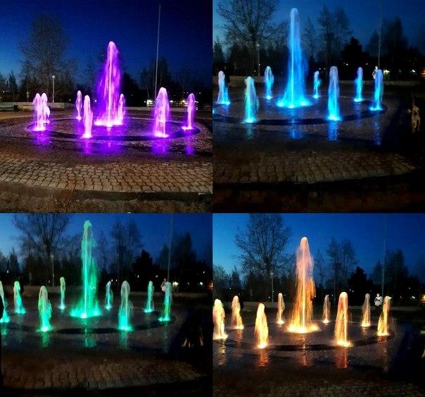 В Усть-Илимске появился фонтан