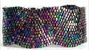 Peyote Stitch Bracelet ( Waves )- Peyote Dikiş Bileklik ( Dalgalı )
