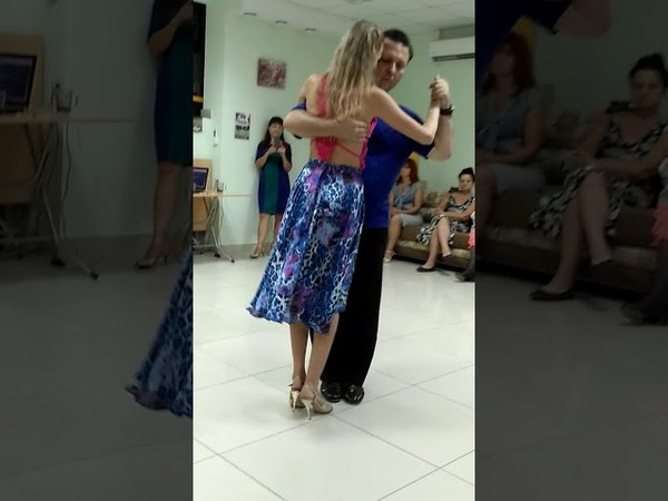 Алексей и Мария Рукавицыны - Milonga workshop in Saratov 03.09.2017
