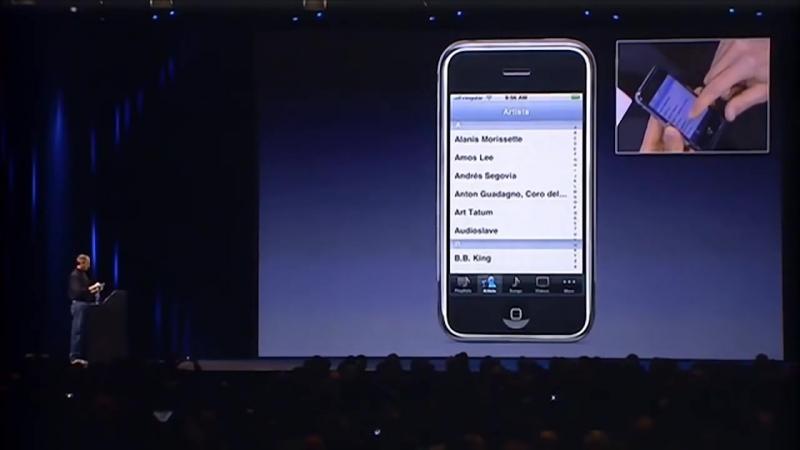 Презентация первого iPhone Стив Джобсом (9 января 2007 года) (оригинал)