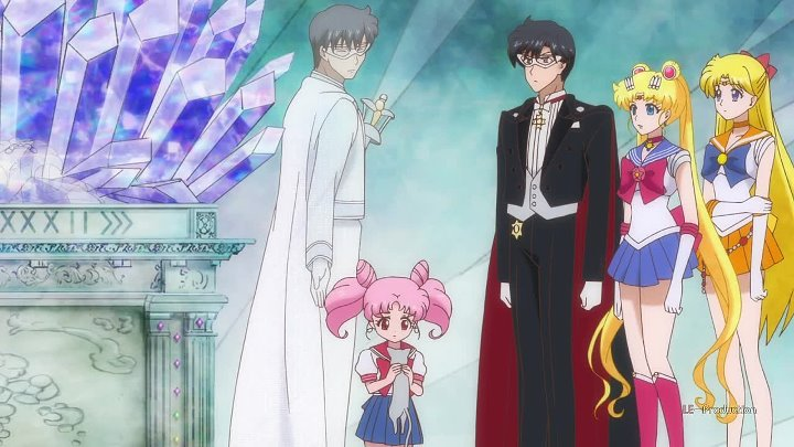 Sailor Moon Crystal Сейлор Мун Кристалл 20 серия loster01 Emeri LE Production