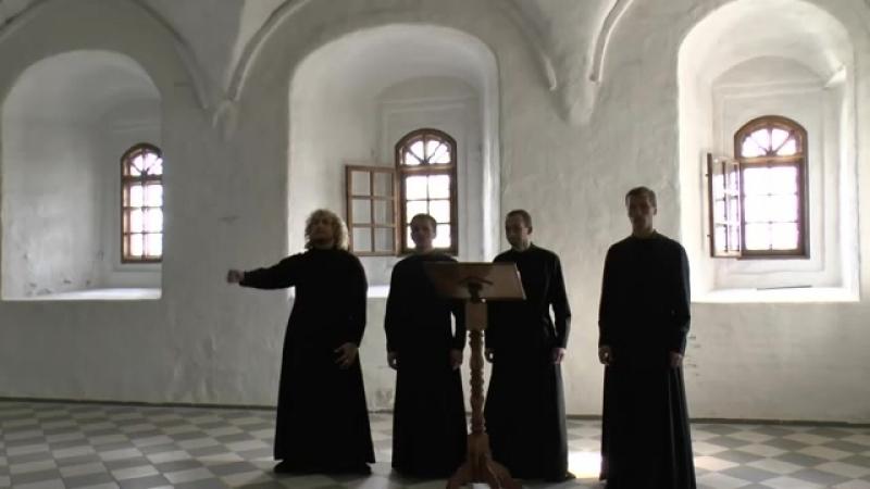 Христос Воскресе - Византийский распев. Праздничный хор Александро-Свирского мужского монастыря