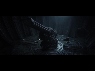 Prometheus 2012 - Space Jockey Scene HD