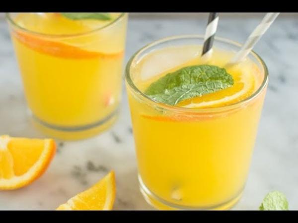 Апельсиновый напиток. КАК ИЗ 1 АПЕЛЬСИНА СДЕЛАТЬ 3 ЛИТРА СОКА