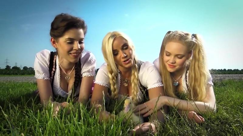 Три немки своей весёлой песенкой докажут вам, что немецкий язык не такой уж и гр